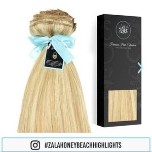 Zala Honey / Beach Blonde Clip In Hair Extensions